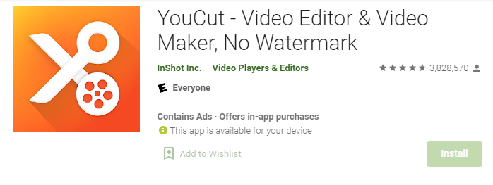 YouCut for Mac PC