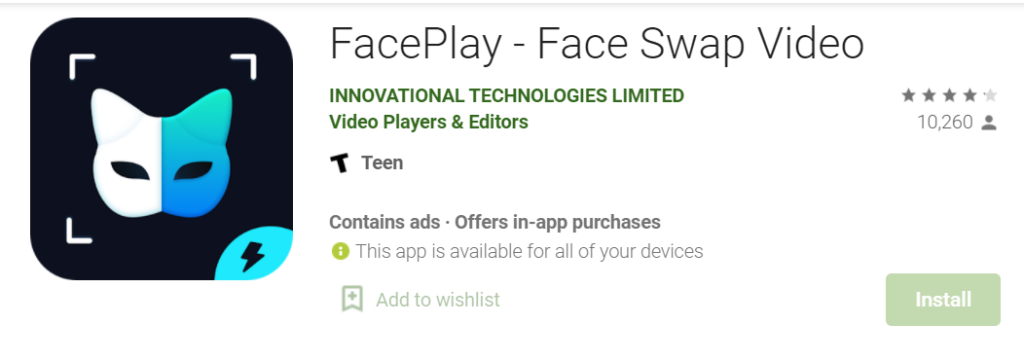 FacePlay for Mac PC